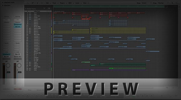Logic Pro Template Project Screenshot Image Preview