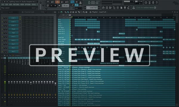 FL Studio Template Project Screenshot Preview