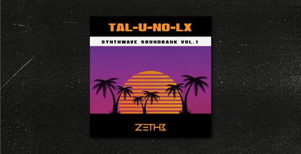 Synthwave Soundbank For TAL-U-NO-LX-V2