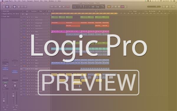 Logic X Trance Template