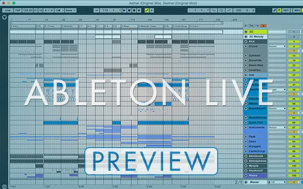High Frequencies - Aether - Progressive Trance Ableton Live Template