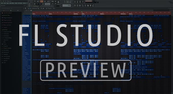 FL Studio Template Preview Screenshot