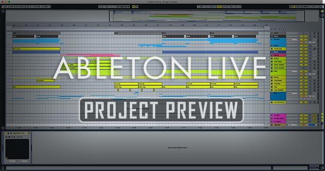 Angels Song - Proglifting Trance Ableton Template