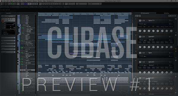 Cubase Template Preview #1
