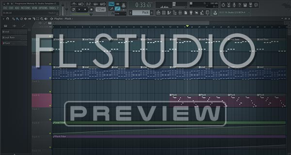 FL Studio Template / Project Screenshot