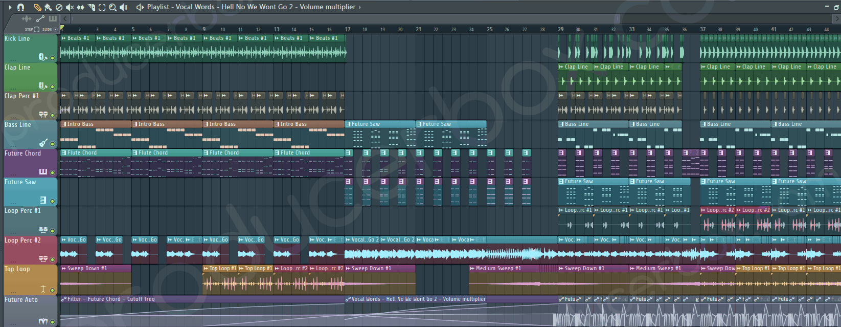 Idea Work - Future Bass Screenshot