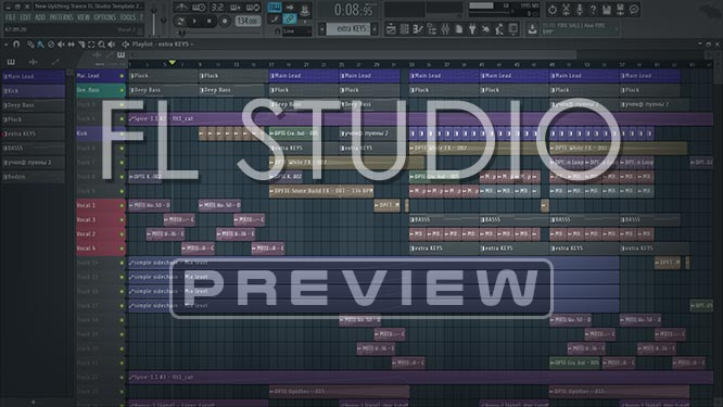 New Uplifting Trance FL Studio Template Vol. 2