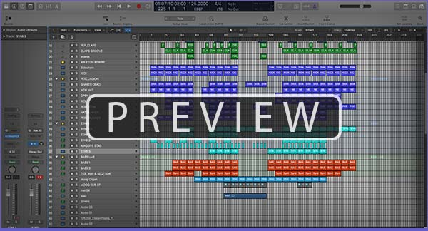 Sylar - Deepdown Progressive Techno Logic Pro Project