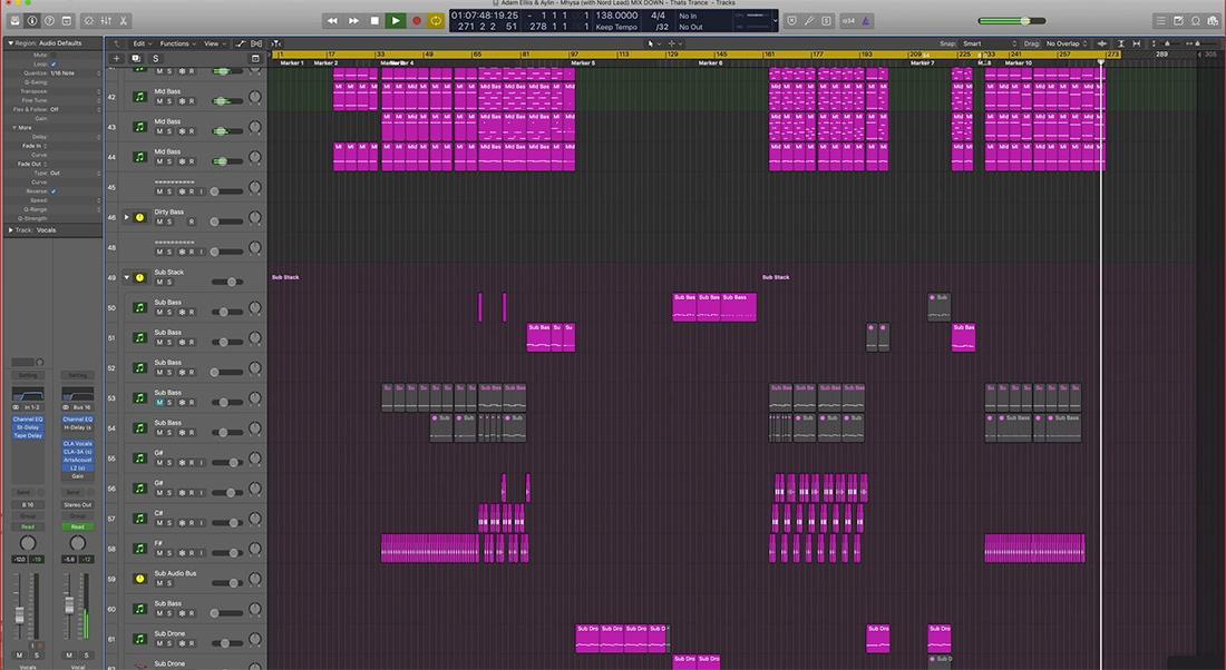 Adam Ellis Extended Tutorial Vol. 11 - Mixing & Track Feedback #3