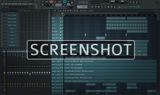 FL Studio Project Screenshot Image