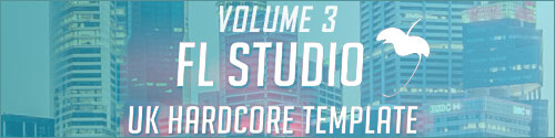 Re-Force UK Hardcore FL Studio Template Vol. 3