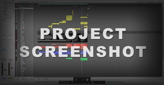 Logic Pro Screenshot Project / Template