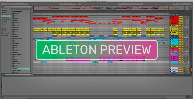 Dance Uplifting - Energy Trance - Ableton Live Template