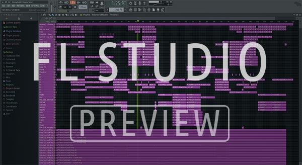 FL Studio Template Preview