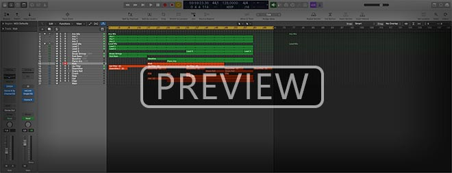 Progressive Trance Break Essentials Logic Pro Template