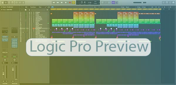 Logic Pro Template Preview