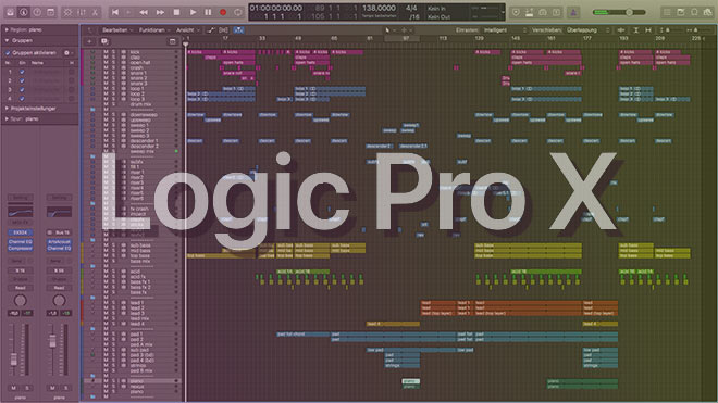 Driving Uplifting Trance Logic Pro Template Vol. 1