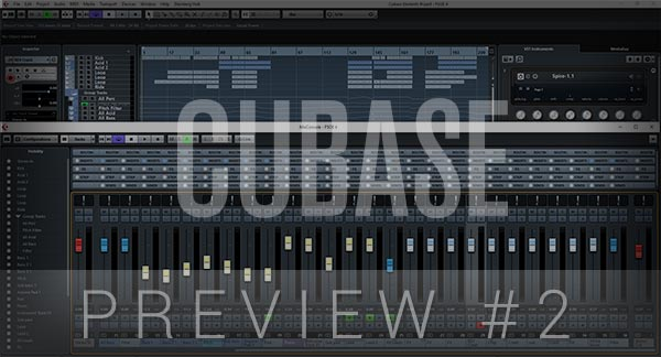 Cubase Template Preview #2