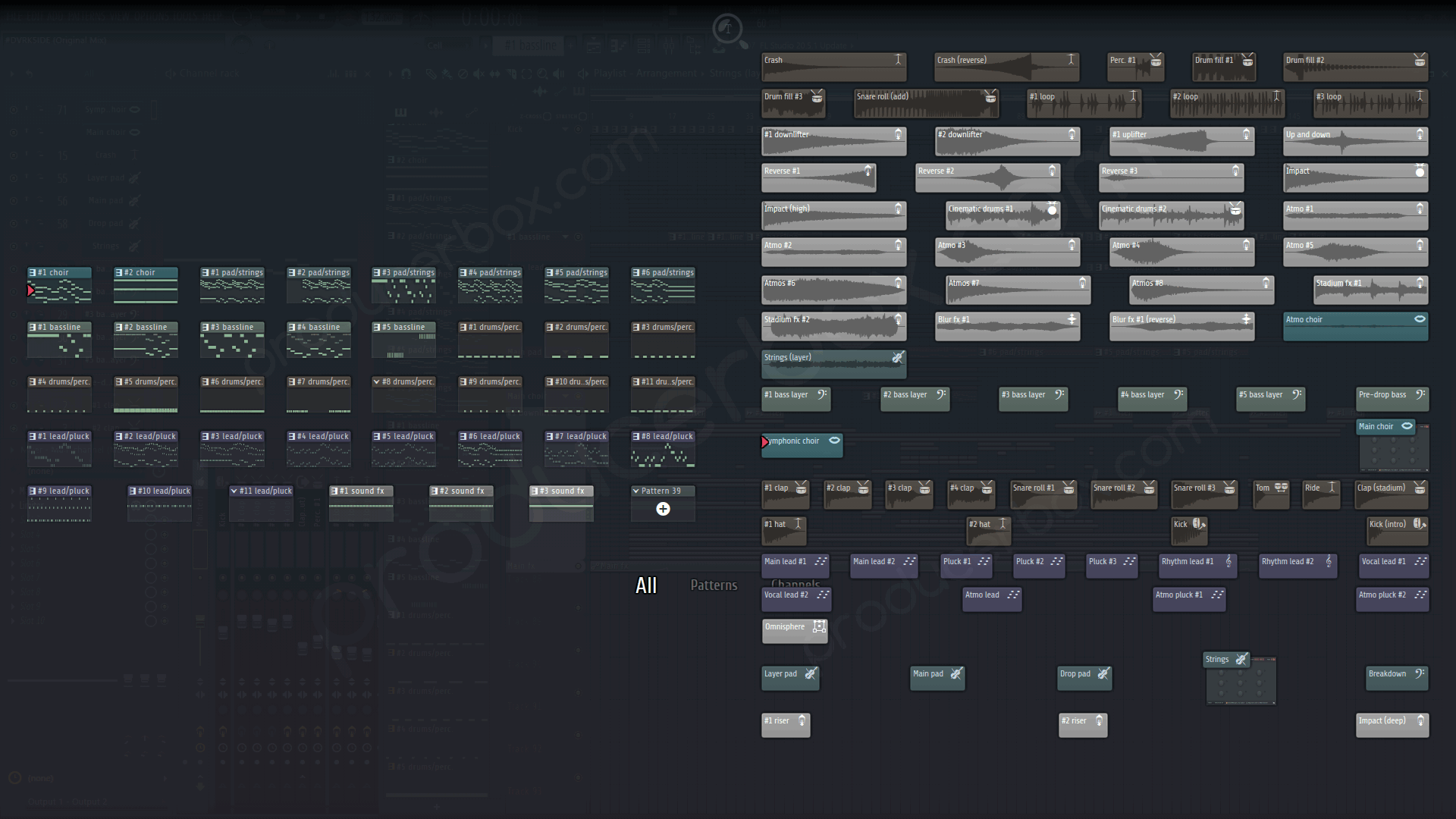 Frainbreeze - DVRK5IDE - FL Studio Template (ASOT898 Supported)