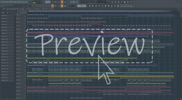 Progressive Trance FL Studio Full Template Preview 1