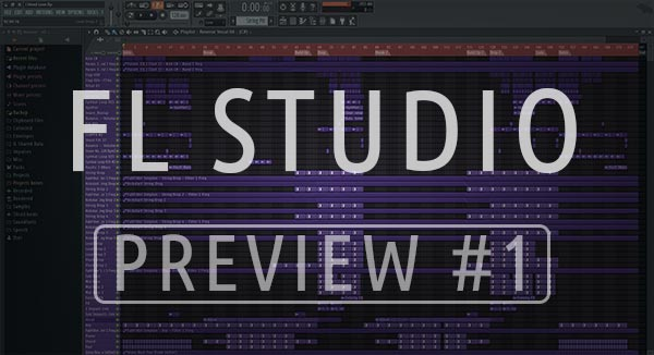 FL Studio Template Preview Screenshot #1