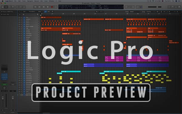 Logic Pro X Project Preview
