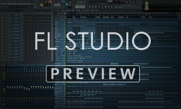 FL Studio Project Preview Screen
