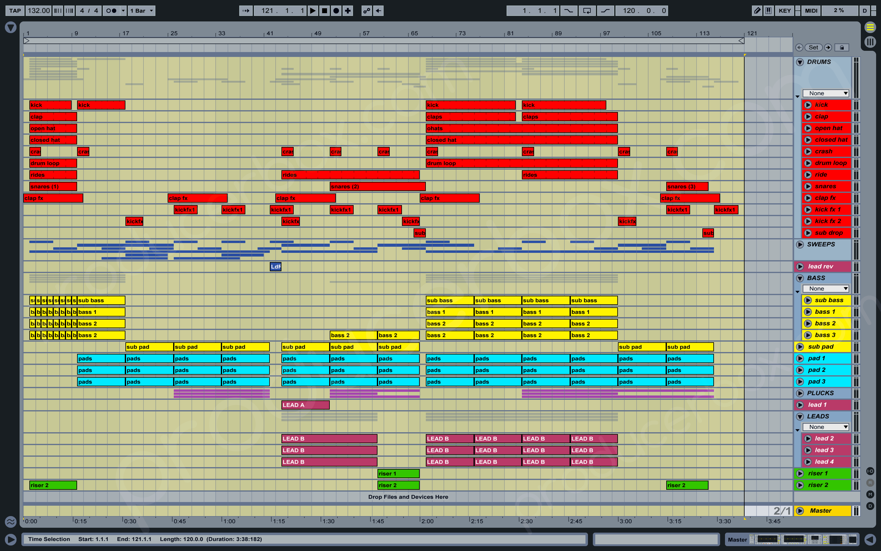 Melodic Proglifting Trance Played In Asot Ableton Live Template