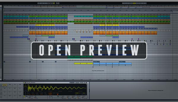 Ableton Live Preview Screenshot Window Image