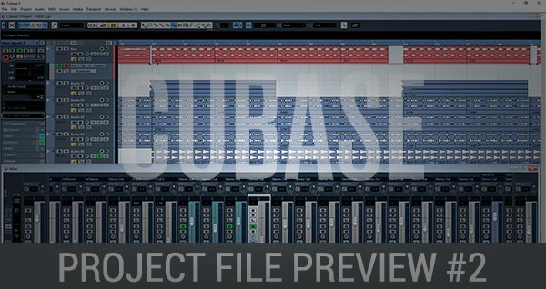 Cubase Project File Preview #2