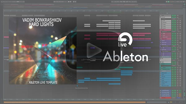 Ableton Live Template Video Preview