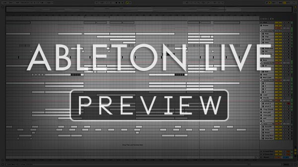 Ableton Live Preview Screenshot