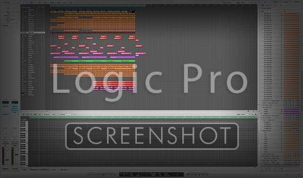 Logic Pro Window Screenshot Image Preview