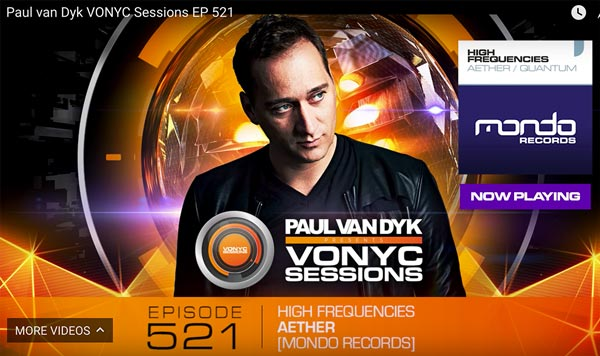 Paul van Dyk VONYC Sessions EP 521