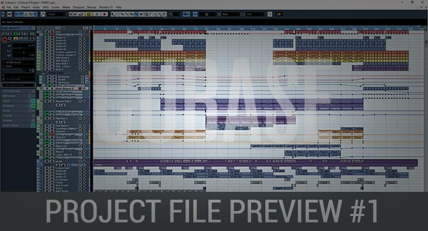 Cubase Project File Preview #1