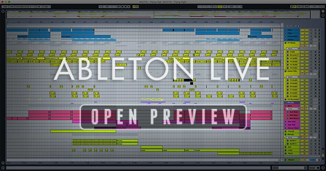 Screenshot Image Ableton Preview