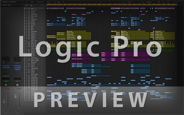 Logic Pro Template Preview Screenshot