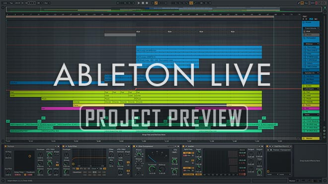 Great Ideas Series Vol. 1 - Uplifting Trance Template for Ableton Live