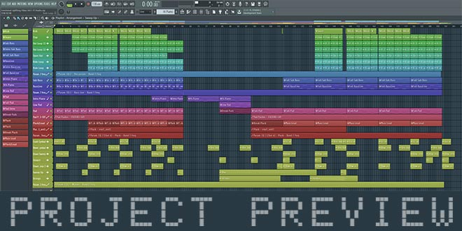 Emotional Uplifting Vibes Vol.1 FL Studio Project