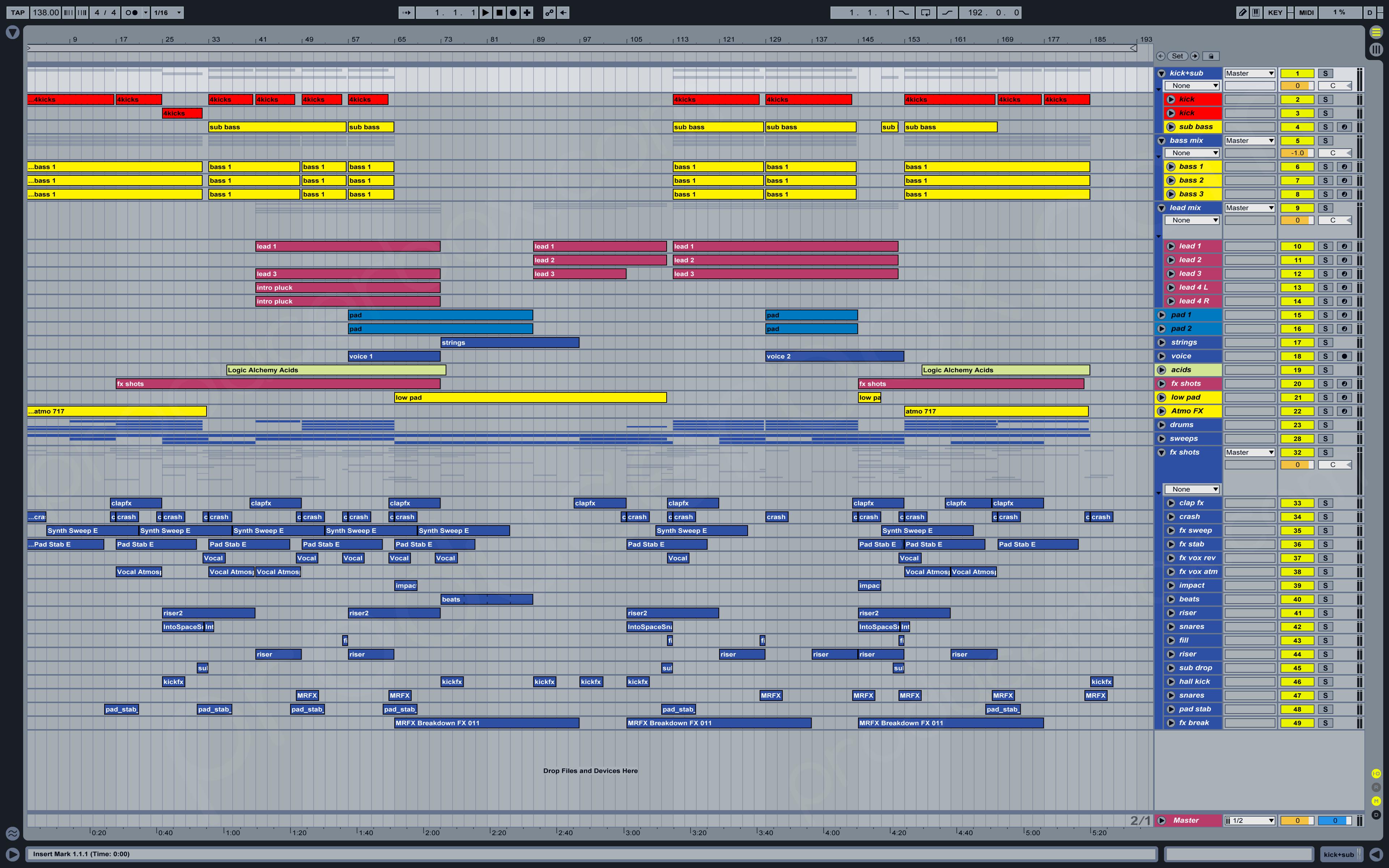 free ableton live trance templates