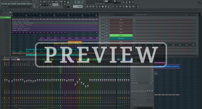 FL Studio Extended Progressive Deep Template Vol. 1
