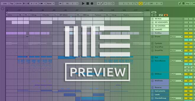 Ableton Template Screenshot Preview