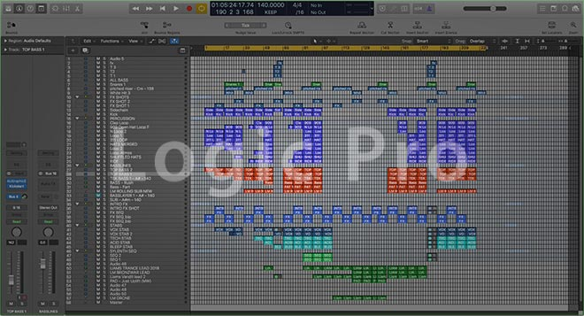 Liam Melly Tech Trance Logic Pro Full Track Project (John Askew Style)