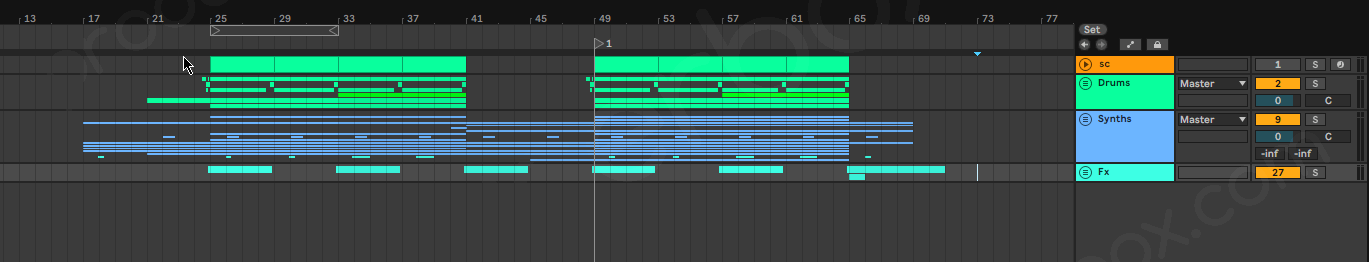 Lo-Fi Ableton Live Template