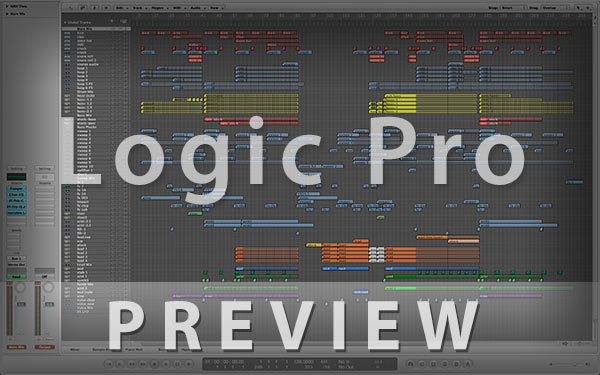 Logic Pro Template Project Preview Screenshot