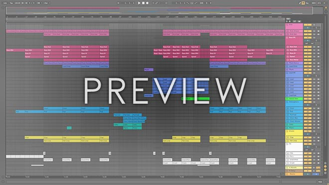 Ableton Live Preview Screen