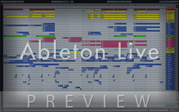 Ableton Live Preview Image