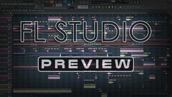 FL Studio Template / Project Screenshot
