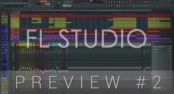 FL STUDIO PROJECT PREVIEW #2