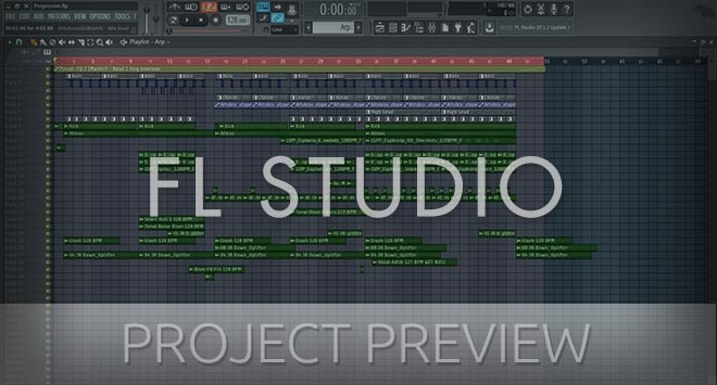 FL Studio Progressive Template (Anjunabeats, Ilan Bluestone Style)